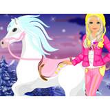 Зимний уход Барби за пони