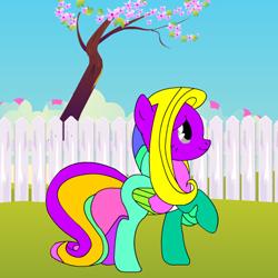 Раскраска Пони для самых маленьких