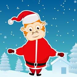 Обезьянка Санта