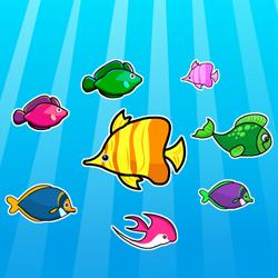 Красочные рыбы. Найди похожие.