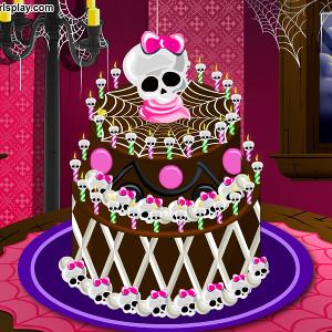 Монстр Хай высокий торт