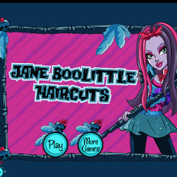 Монстр Хай Джейн Булитл Jane Boolittle Haircuts