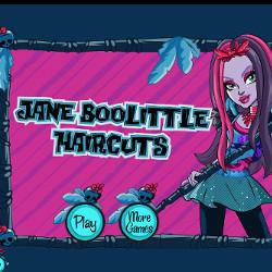 Монстр Хай Джейн Булитл Jane Boolittle Haircuts