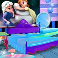 Замороженные дизайн комнаты