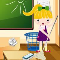 Уборка школы