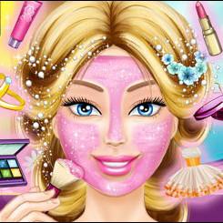 Barbie невеста макияж