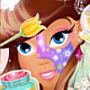 Принцесса-волшебница в спа-салоне