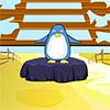 Побег симпатичного пингвина