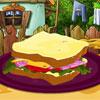 Украшение сэндвича