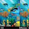 Подводный мир — найди отличия